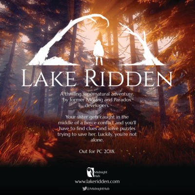 Dev Blog #25 – Making Marketing Materials for Lake Ridden's EGX Booth