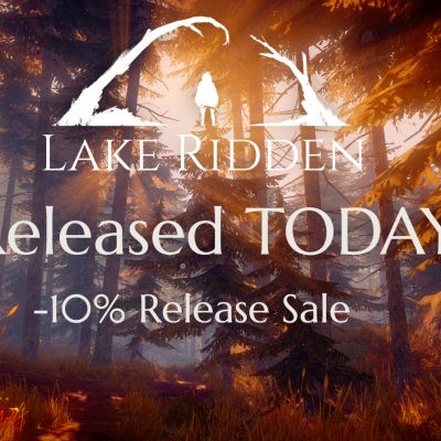Lake Ridden Is OUT NOW!