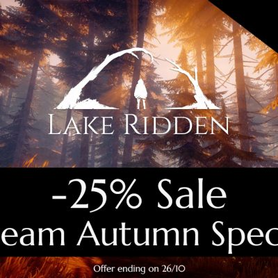 Lake Ridden Autumn Sale and EGX Exhibition!